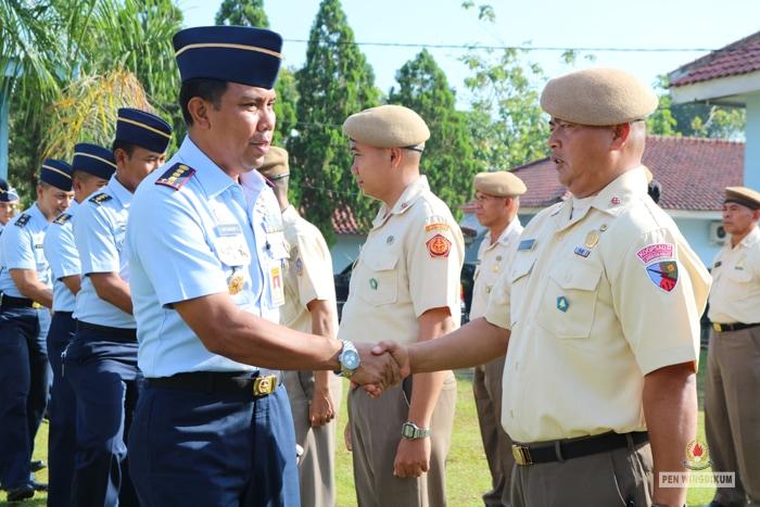 100 PNS TNI AU Ikuti Diklat Alih Golongan