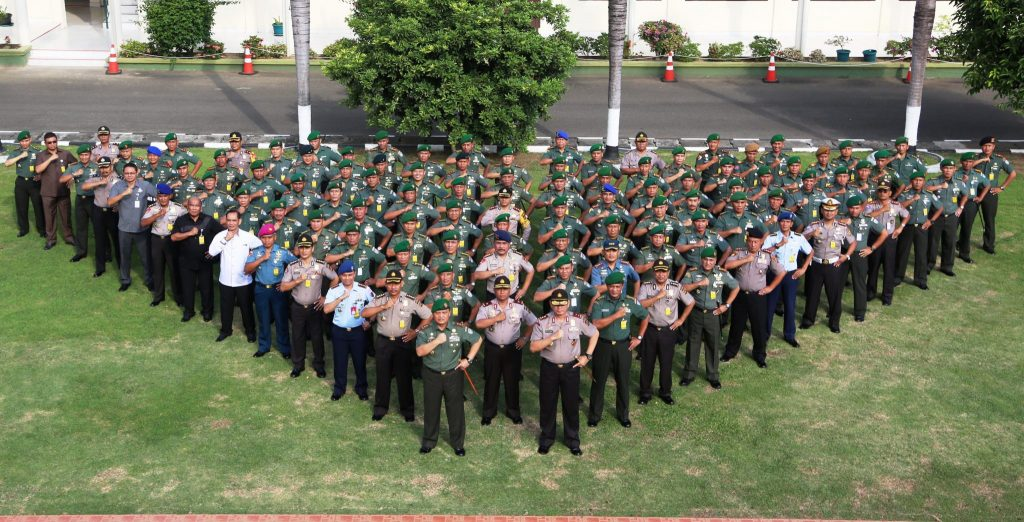 Danlanud Sim Hadiri Rapim TNI Polri Se-Aceh Di Kodam IM