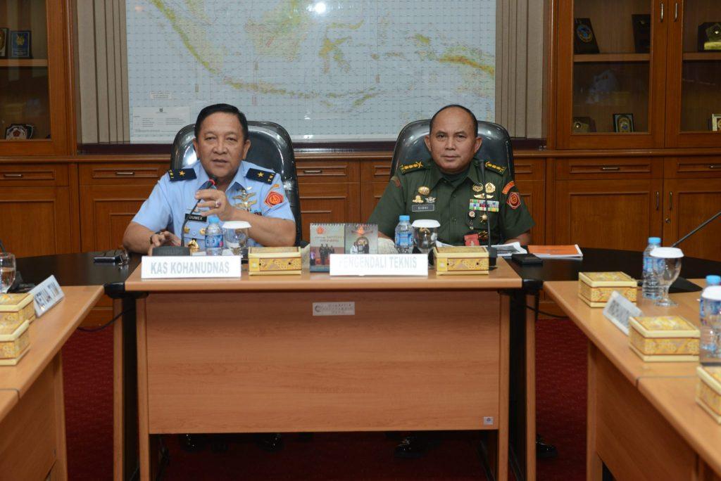 Itjen TNI Terapkan Mekanisme Baru Dalam Wasrik di Kohanudnas