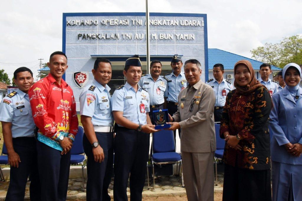 Kunjungan Pjs. Gubernur Lampung di Lanud BNY