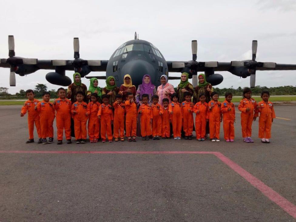 Lanud HLO: TK Angkasa Hiasi Misi Hercules A-1333
