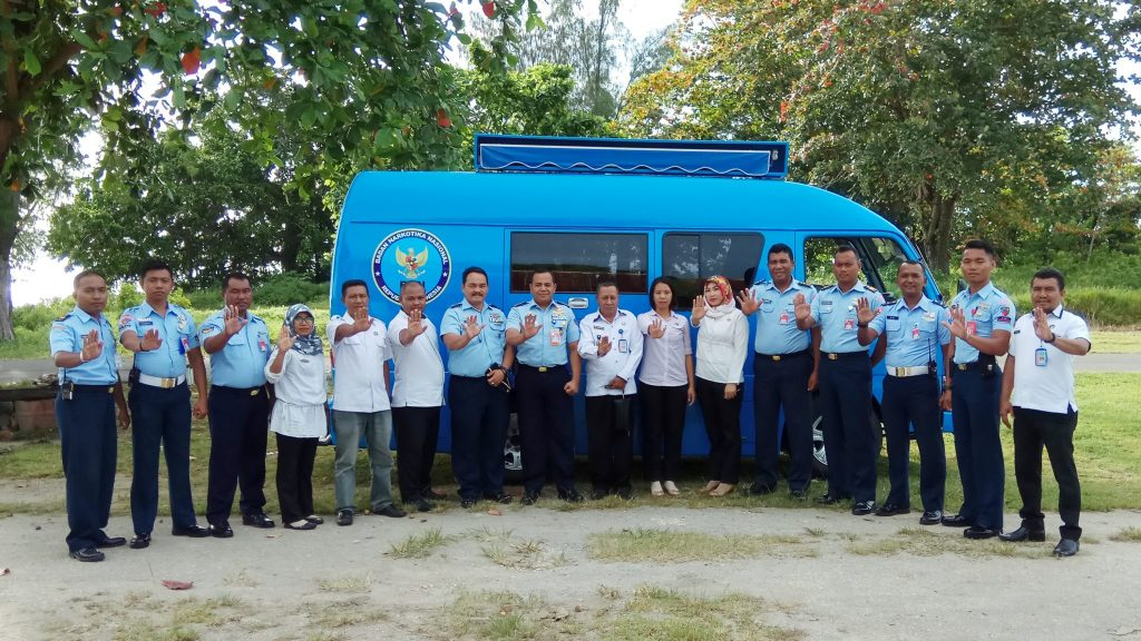 Urine Personel Lanud Leo Wattimena Diperiksa BNN Morotai