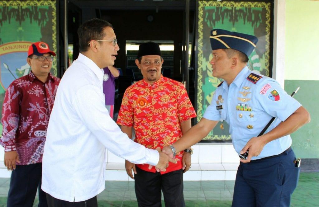 Danlanud HAD Sambut Menteri Agama RI Dalam Rangka Festival Parade Tatung Dan Cap Go Meh 2018