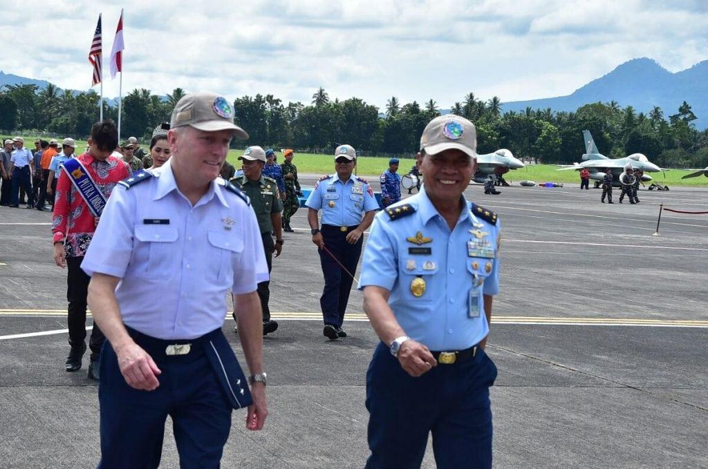 Asops Kasau Tutup Latihan Bersama Cope West Dan Spear Iron 2018