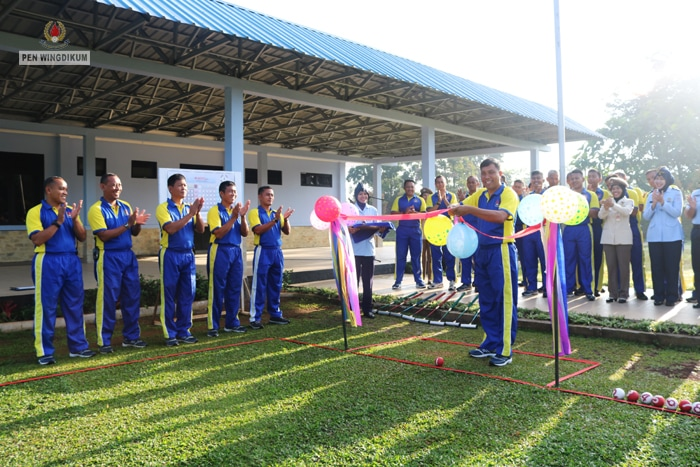 Lapangan Gate Ball Wingdikum Resmi Dibuka