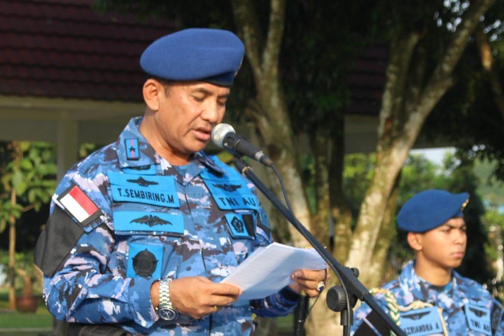 "Pangkoopsau I : "" Tidak Ada Toleransi Sekecil Apapun, Terhadap Pelanggaran Lambangja""."