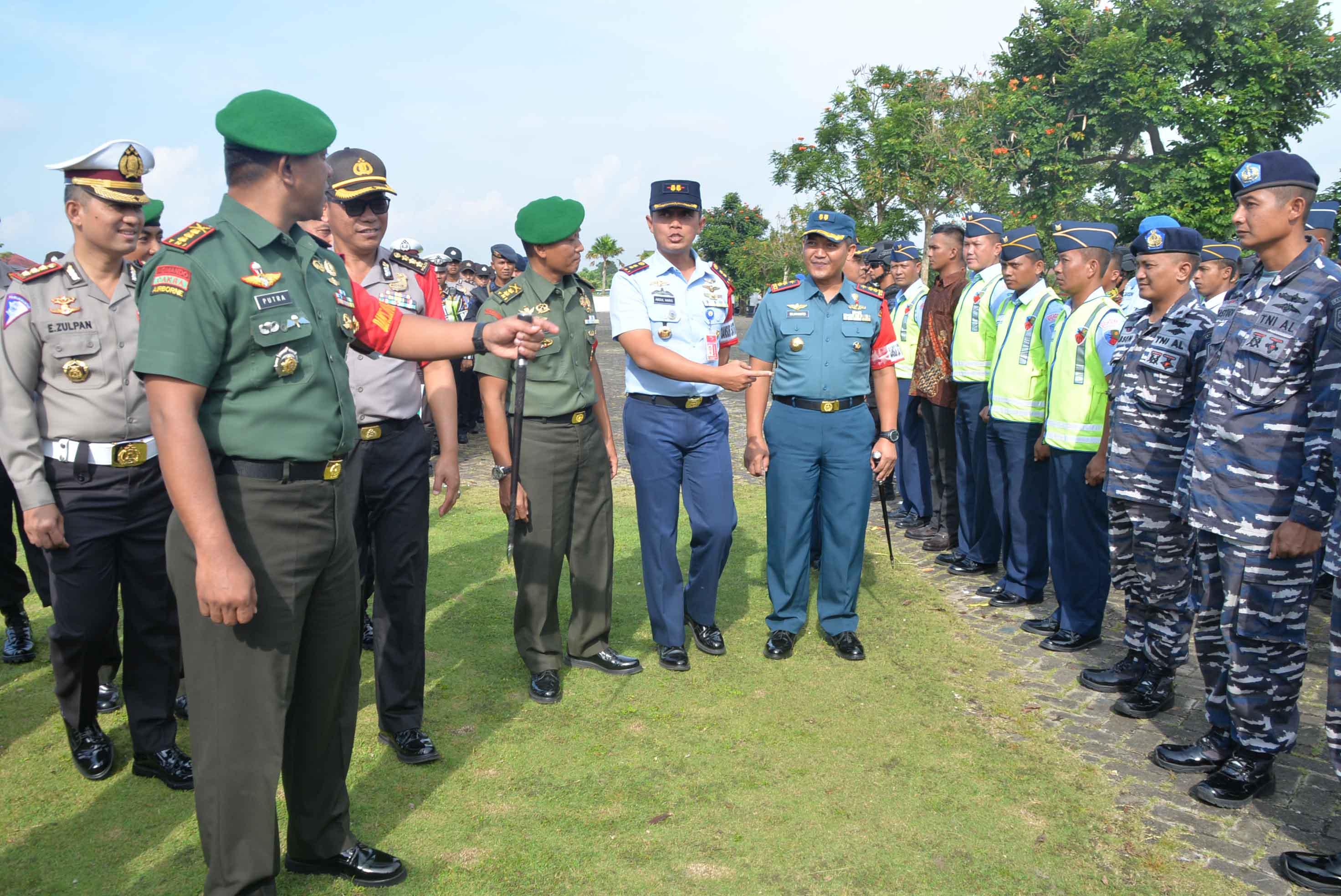 Apel Gelar Pasukan Pengamanan RI I Wilayah Kalimantan Selatan