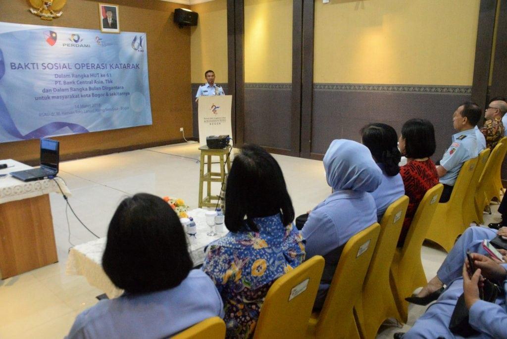 Lanud Ats Melakukan Bakti Sosial Operasi Katarak