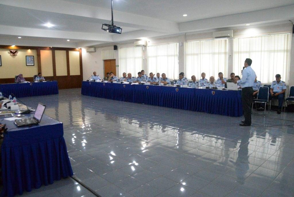 Lanud Ats Terima Sosialisasi Pengisian SPT Dari Kantor Pajak Bogor