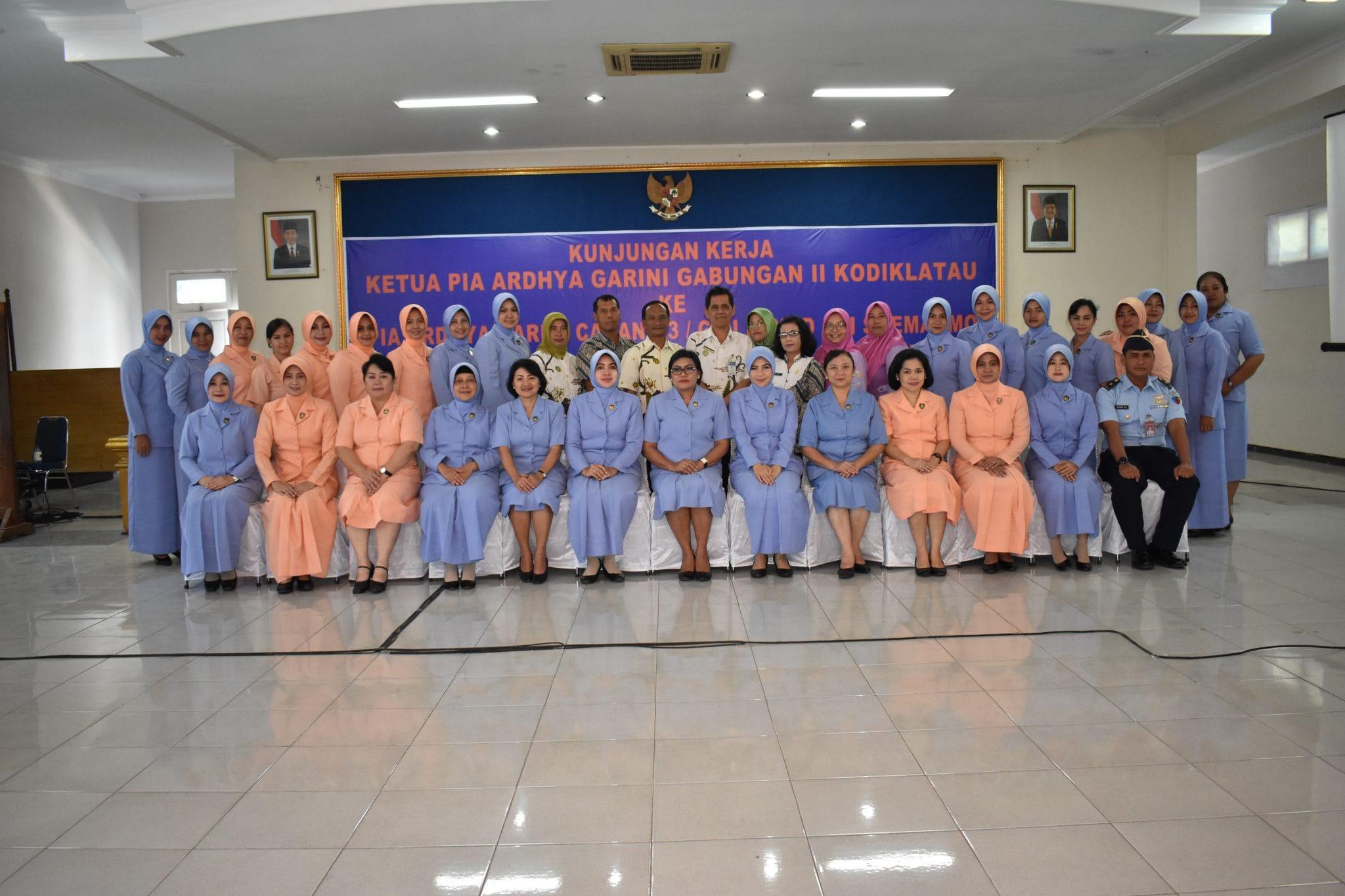 Tatap Muka Ketua PIA AG Kodiklatau Dengan Anggota PIA Lanud Smo