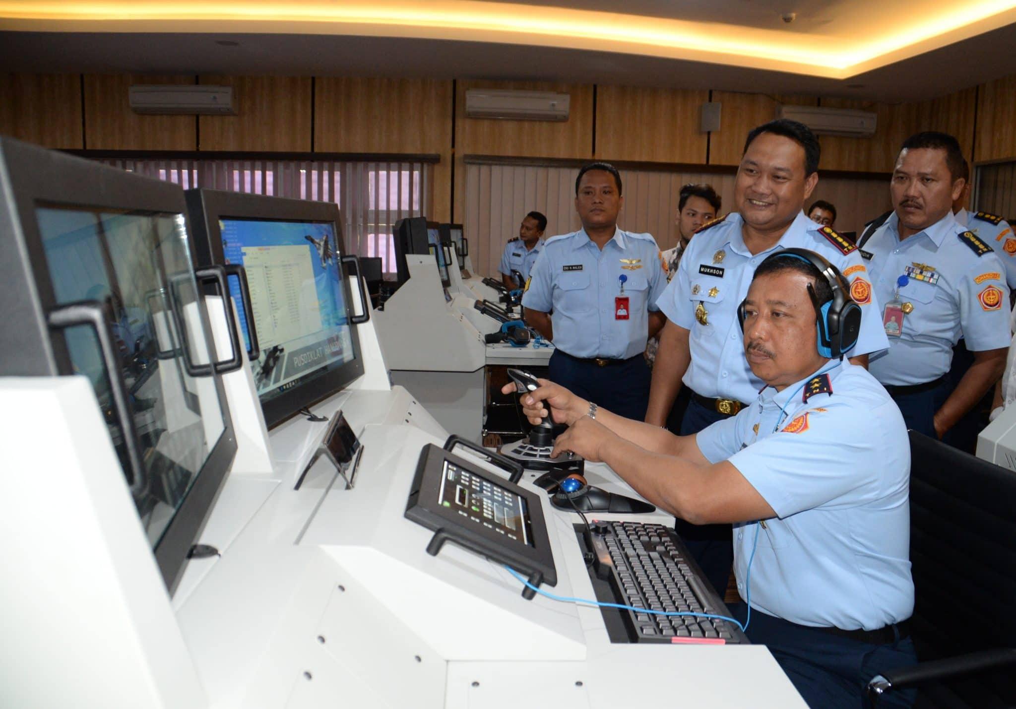 Panglima Kohanudnas Kunjungi Pusdiklathanudnas Surabaya