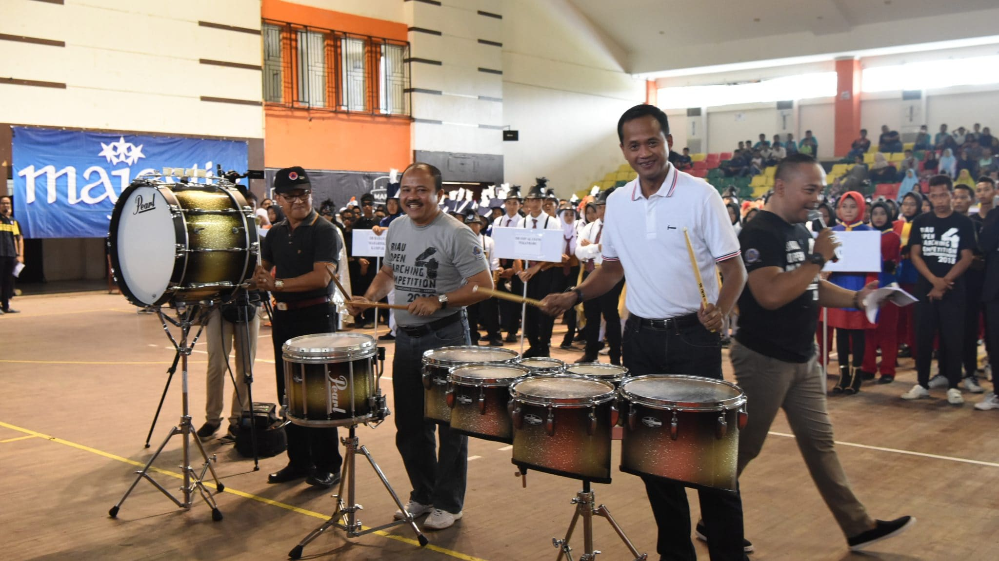 Danlanud Rsn Buka Riau Open Marching Competition 4