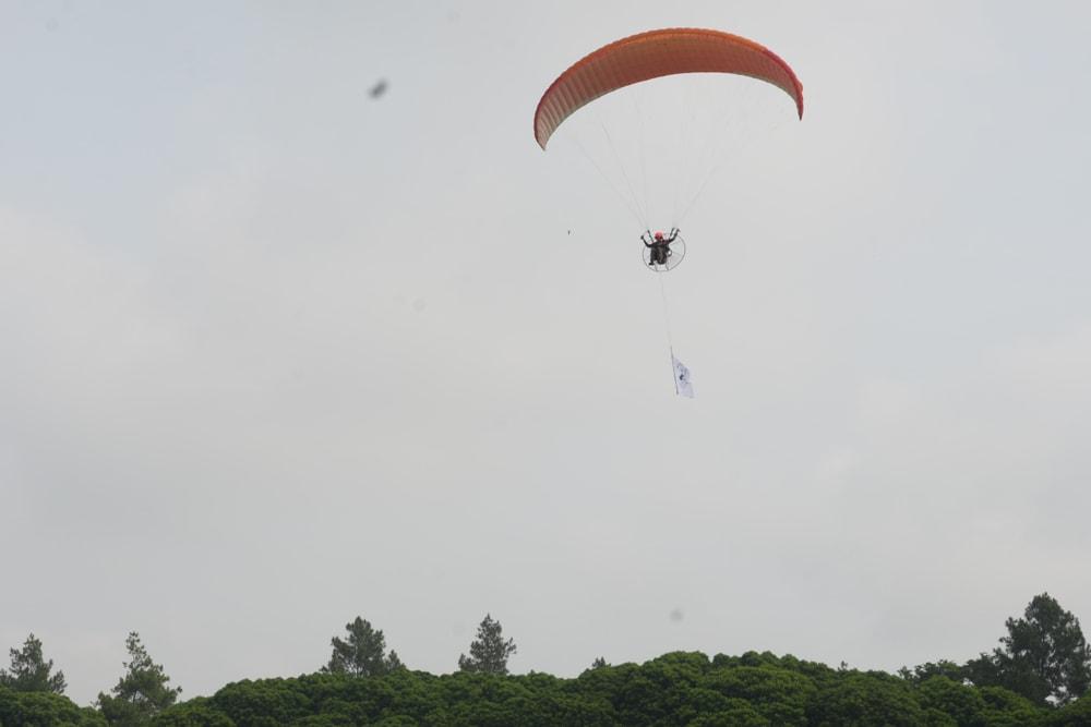 Take Off Area Paralayang Sidoluhur Lawang Akan Diresmikan