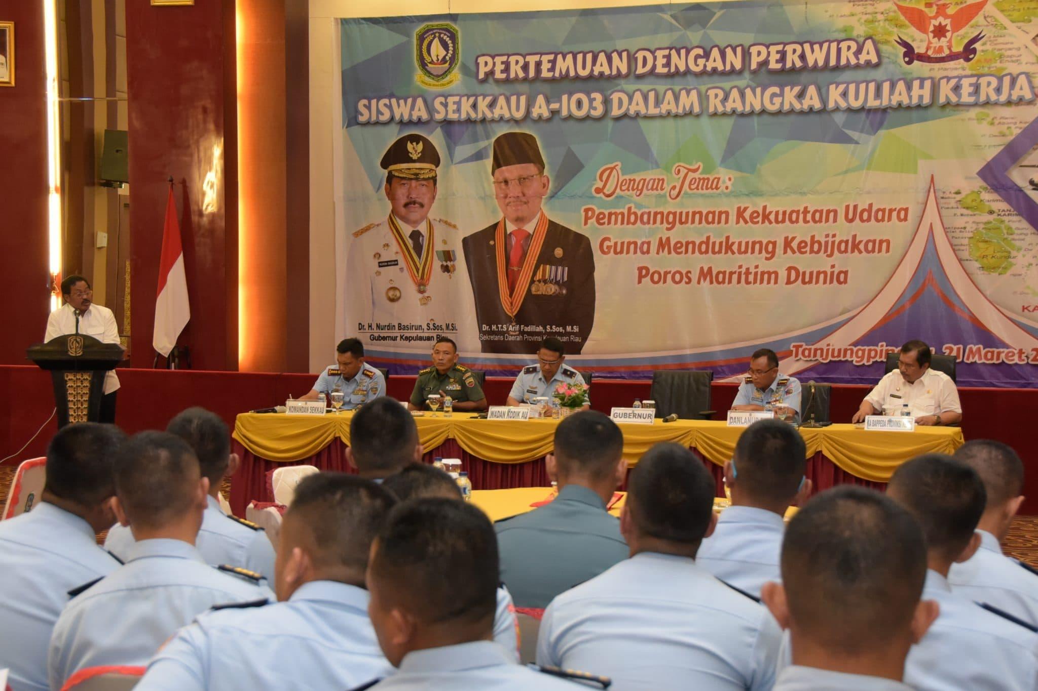 Pasis Sekkau A-103 Melaksanakan Kuliah Kerja di Kepulauan Riau