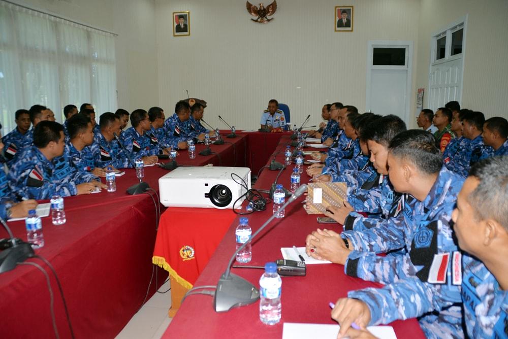 Entry Briefing Pangkosekhanudnas II Makassar