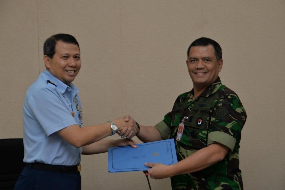 Exit Briefing dan Penyerahan Hasil Wasrikkap Itjenau di Kosekhanudnas I