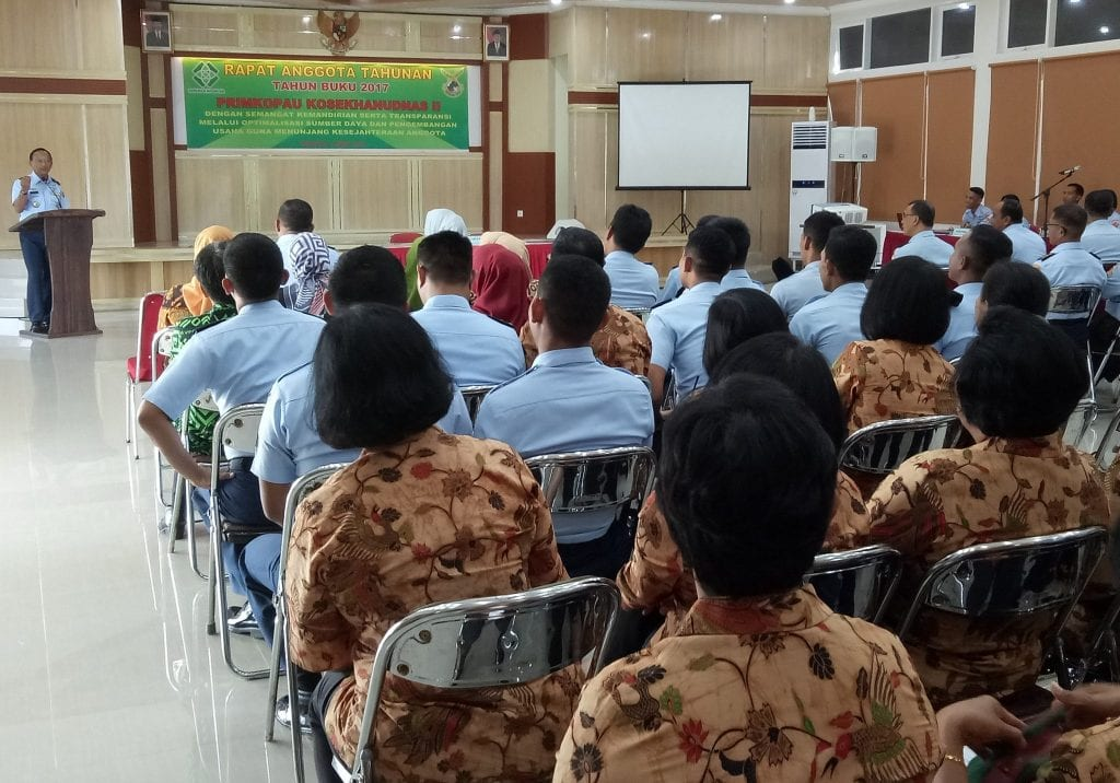RAT Primkopau Kosekhanudnas Ii Tahun Buku 2017
