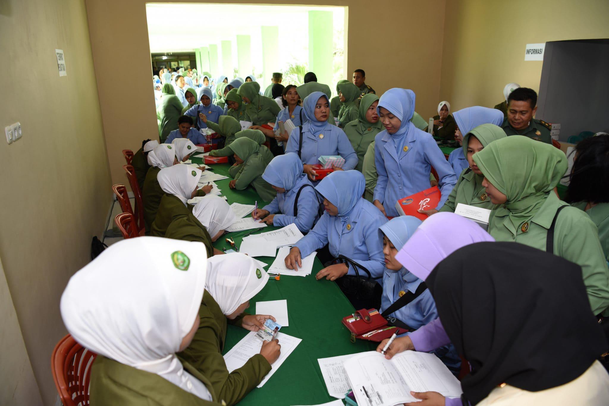 PIA AG Bakorda Makassar Ikuti Pemeriksaan IVA