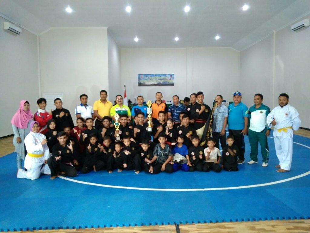 Perguruan Pencak Silat Satria Muda Indonesia Juara Umum Kejuaraan Danlanud Cup I Tahun 2018