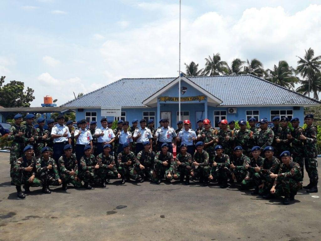 Siswa Sejursarta Radar A-31 Laksanakan Lattis Di Satrad Congot