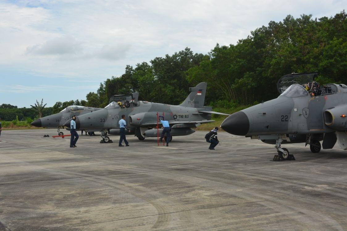 Pembukaan Latihan Hanud Kilat B-18 T.A. 2018 di Kosekhanudnas II Makassar