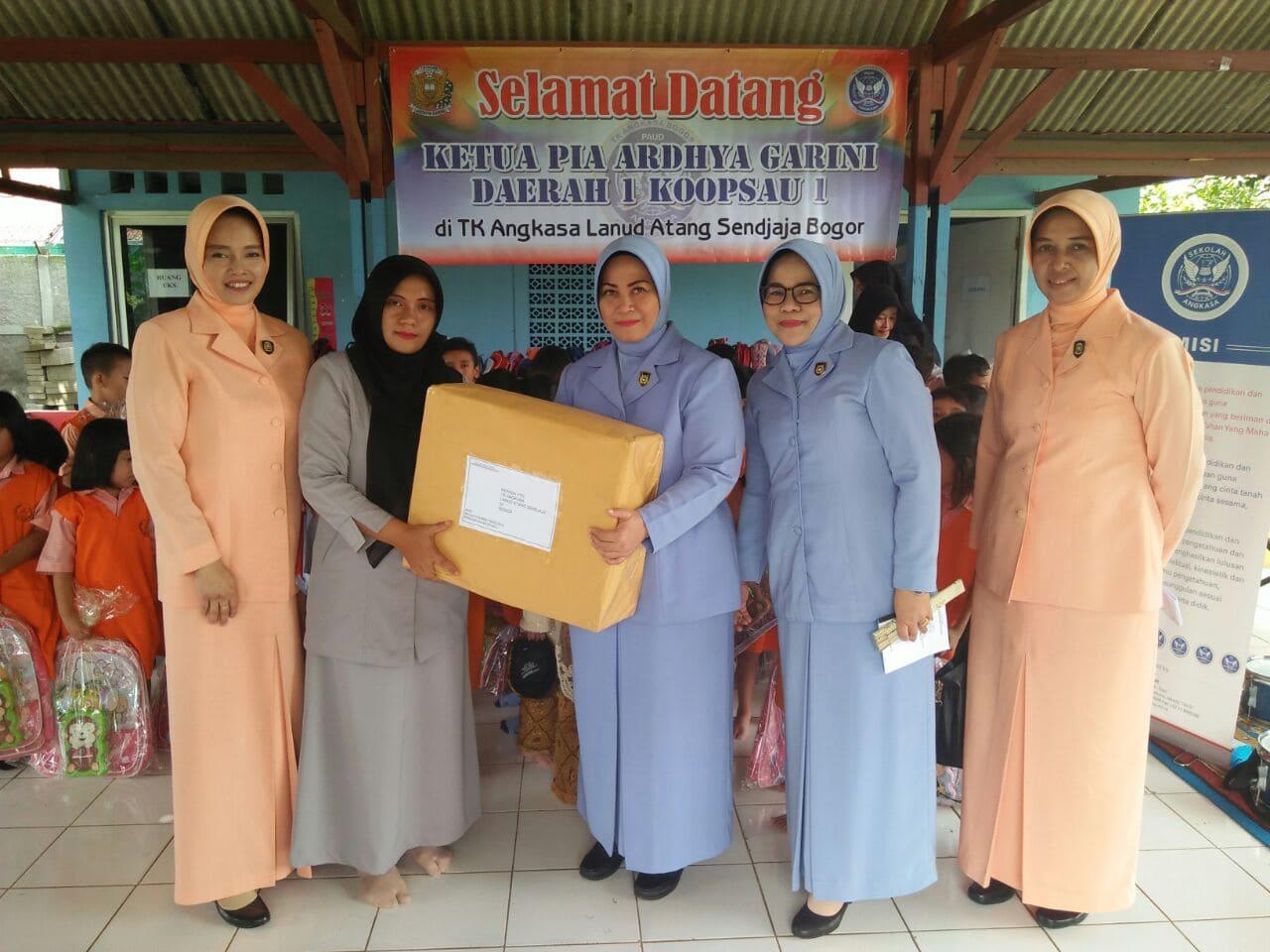 Kunjungan Kerja Ketua PIA Ardhya Garini Daerah 1 Koopsau I Ke Lanud Ats