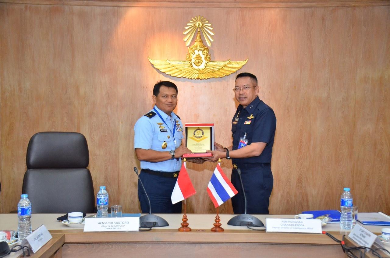 Intelex 2018 Mantapkan Kerjasama Intelijen TNI AU dan RTAF