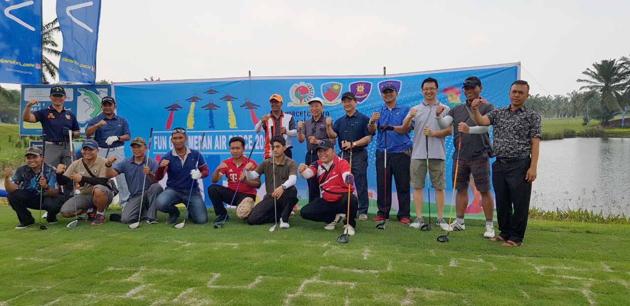 Wing III Paskhas Gelar Fun Golf Medan Air Force