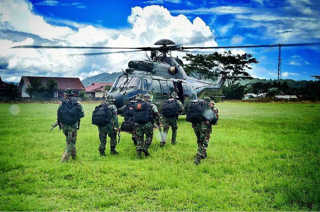 """Latihan Bersama """"Spear Iron"""" Di Lanud Sam Ratulangi"""