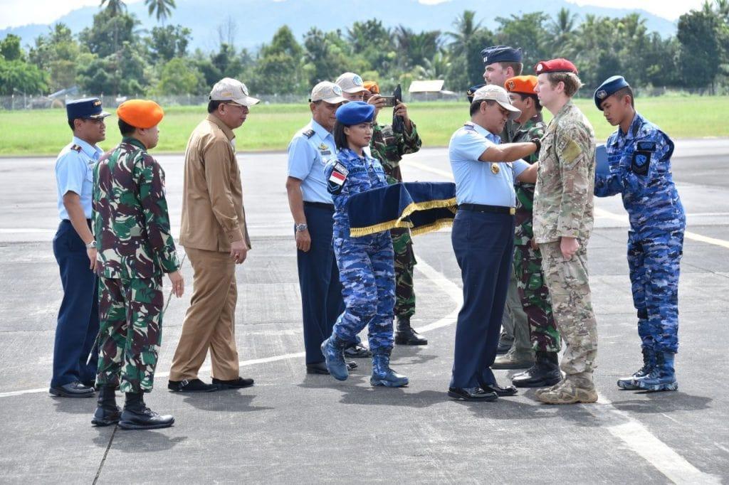 Penutupan Latma Cope West Dan Spear Iron Tahun 2018 Di Lanud Sam Ratulangi