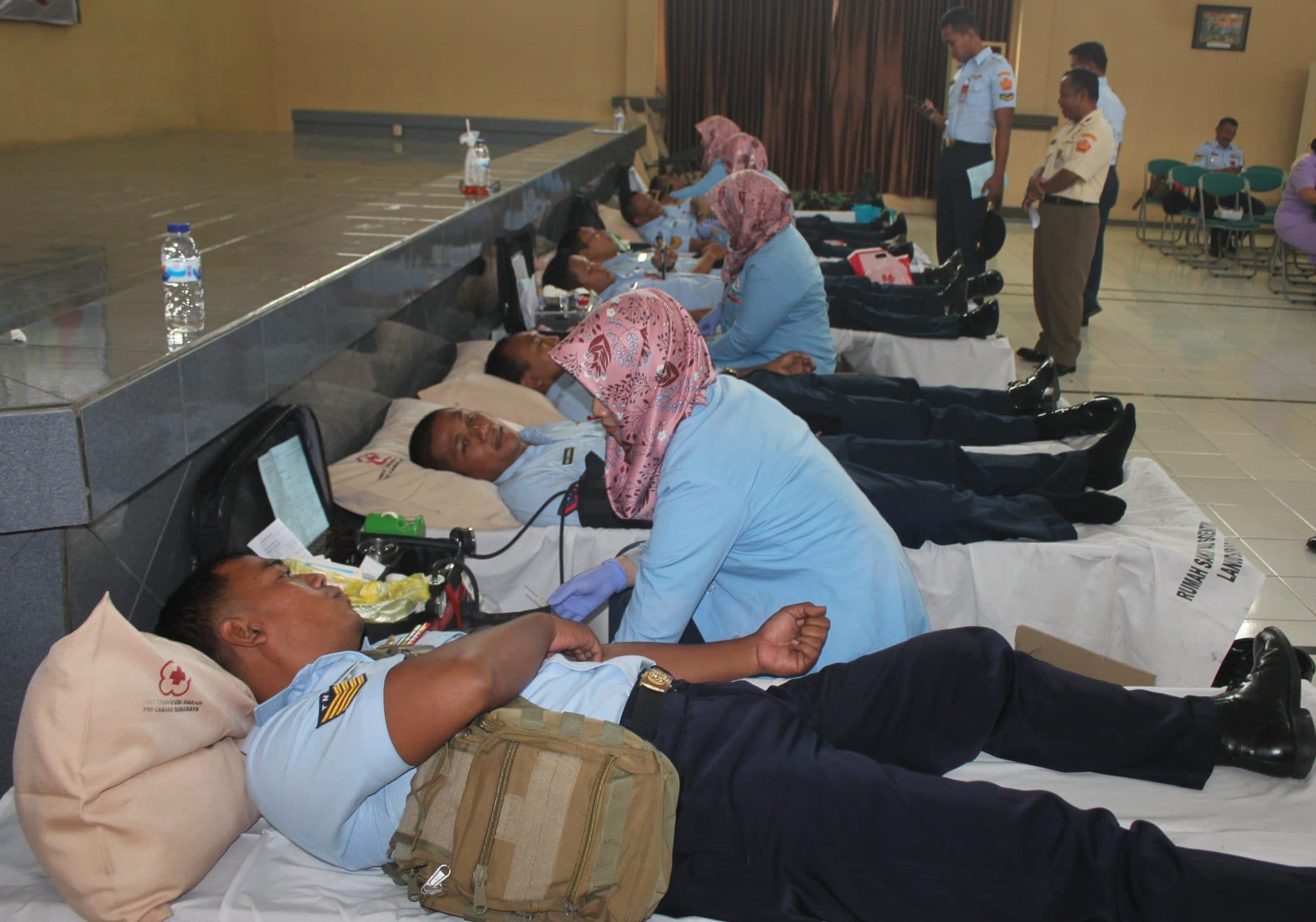 Donor Darah Dalam Rangka HUT Ke-72 TNI Angkatan Udara