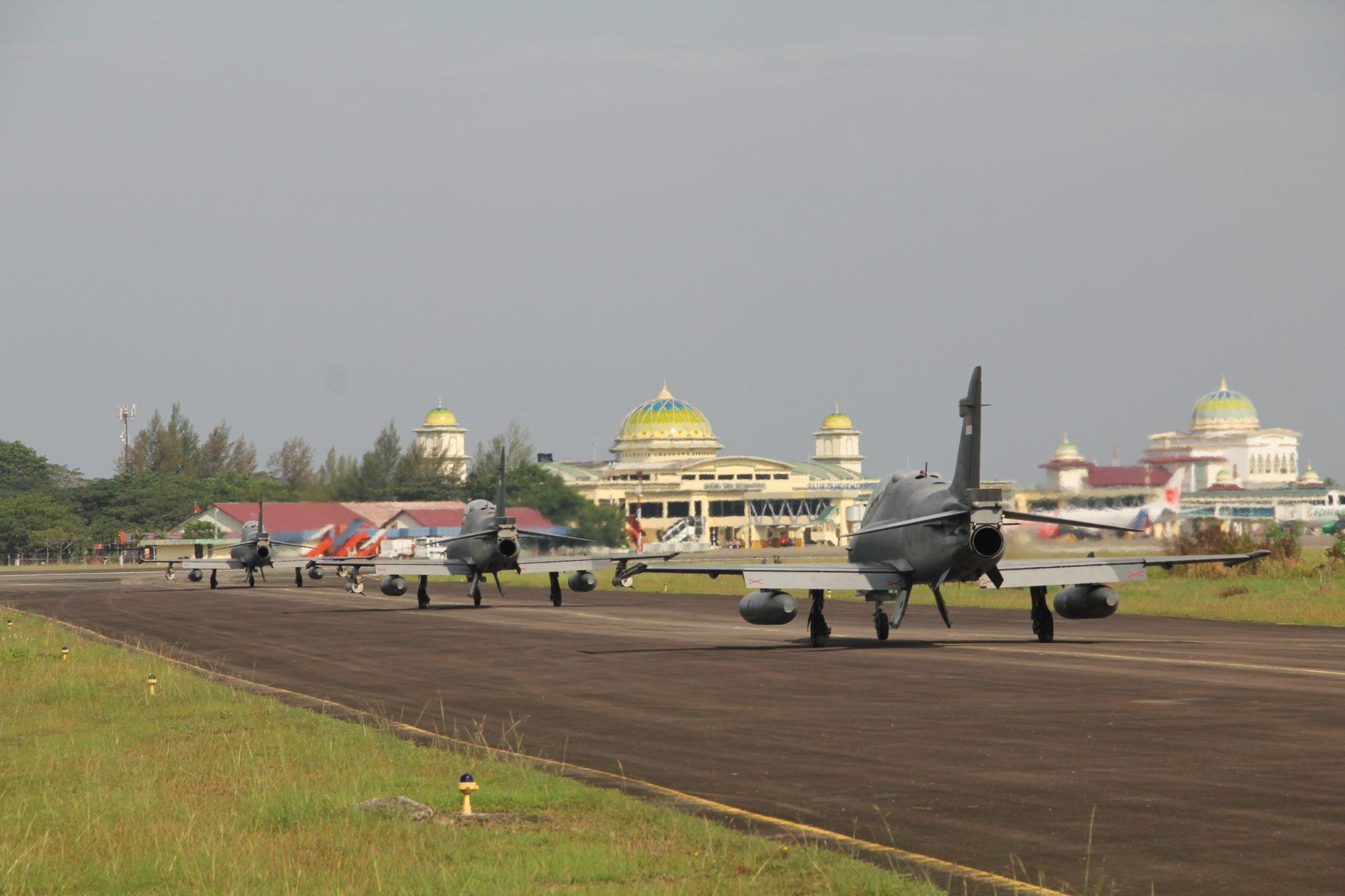 Skadron Udara 12 Selesai Laksanakan Latihan Maverick