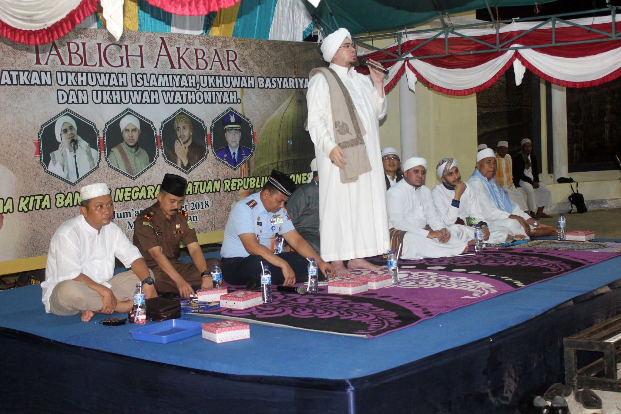 Lanud Lwm Gelar Tabligh Akbar Bersama Masyarakat Morotai