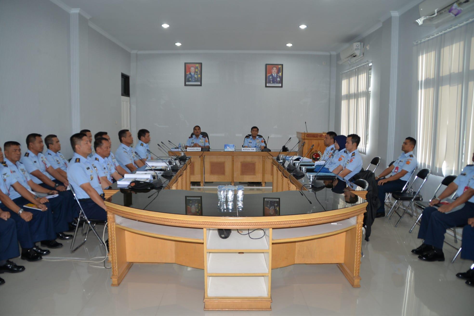 Pengawasan dan Pemeriksaan Inspektorat Kohanudnas di Kosekhanudnas III