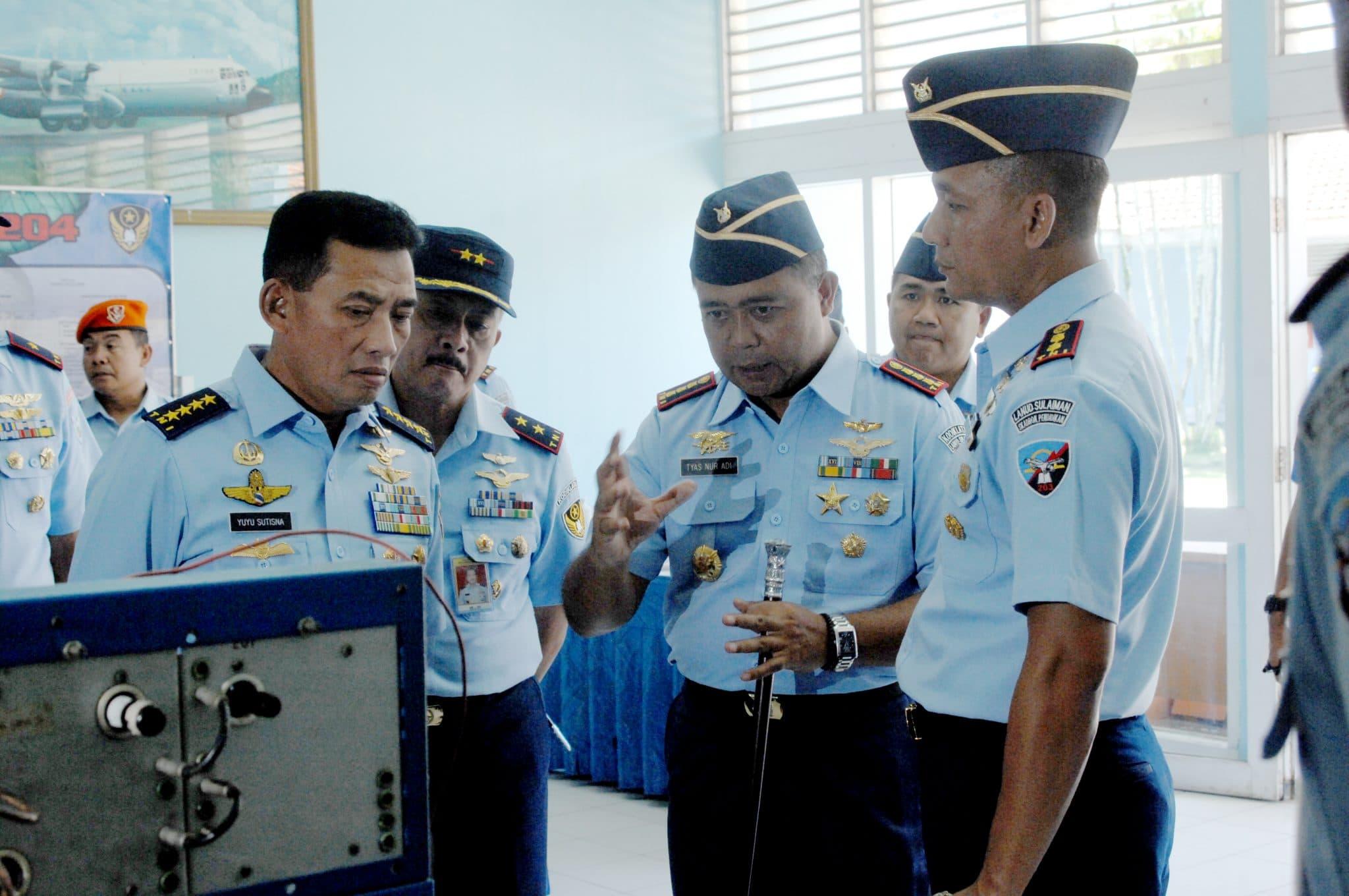 Kunjungan Kerja Kepala Staf Angkatan Udara Ke Lanud Sulaiman