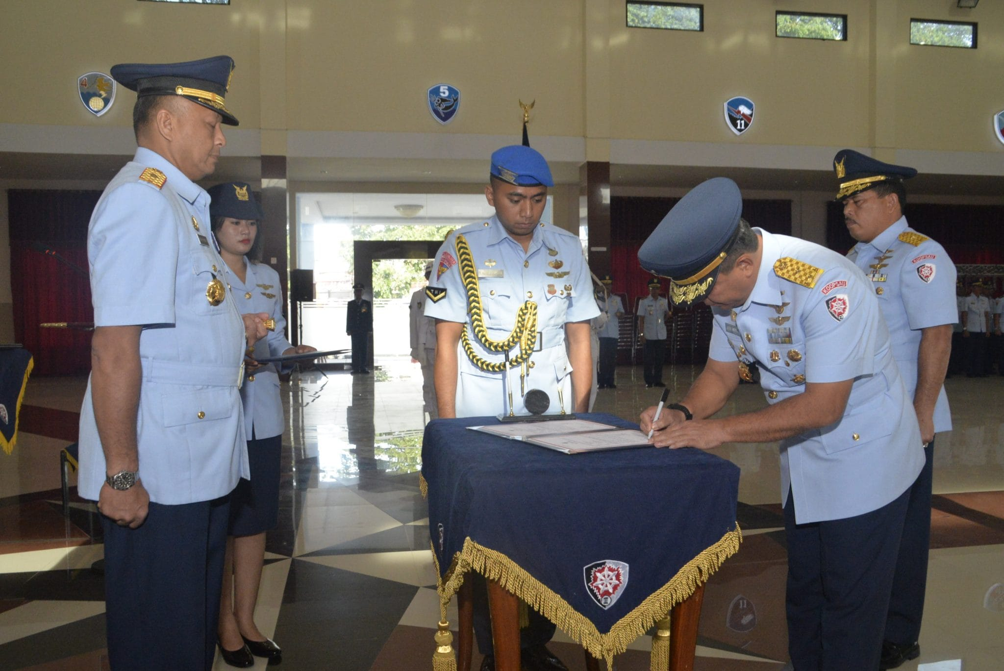 Marsma TNI Julexi Tambayong Jabat Kas Koopsau II
