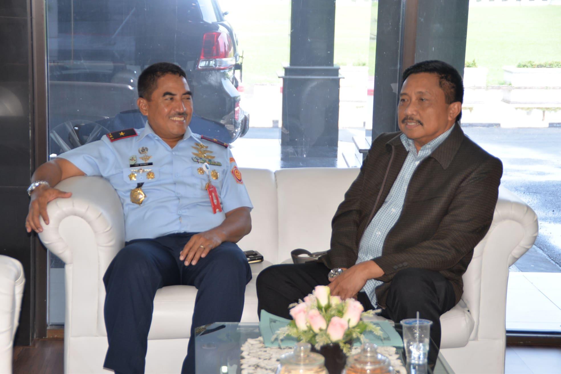 Panglima Kosekhanudnas III Terima Kunjungan Tim dari Lemhannas RI