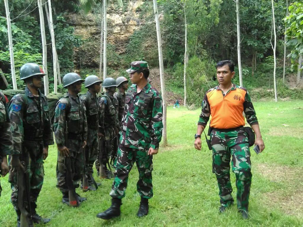 Danlanud Adi Soemarmo Tinjau Latihan Olah Yuda Caprasis Semata TNI AU A-74