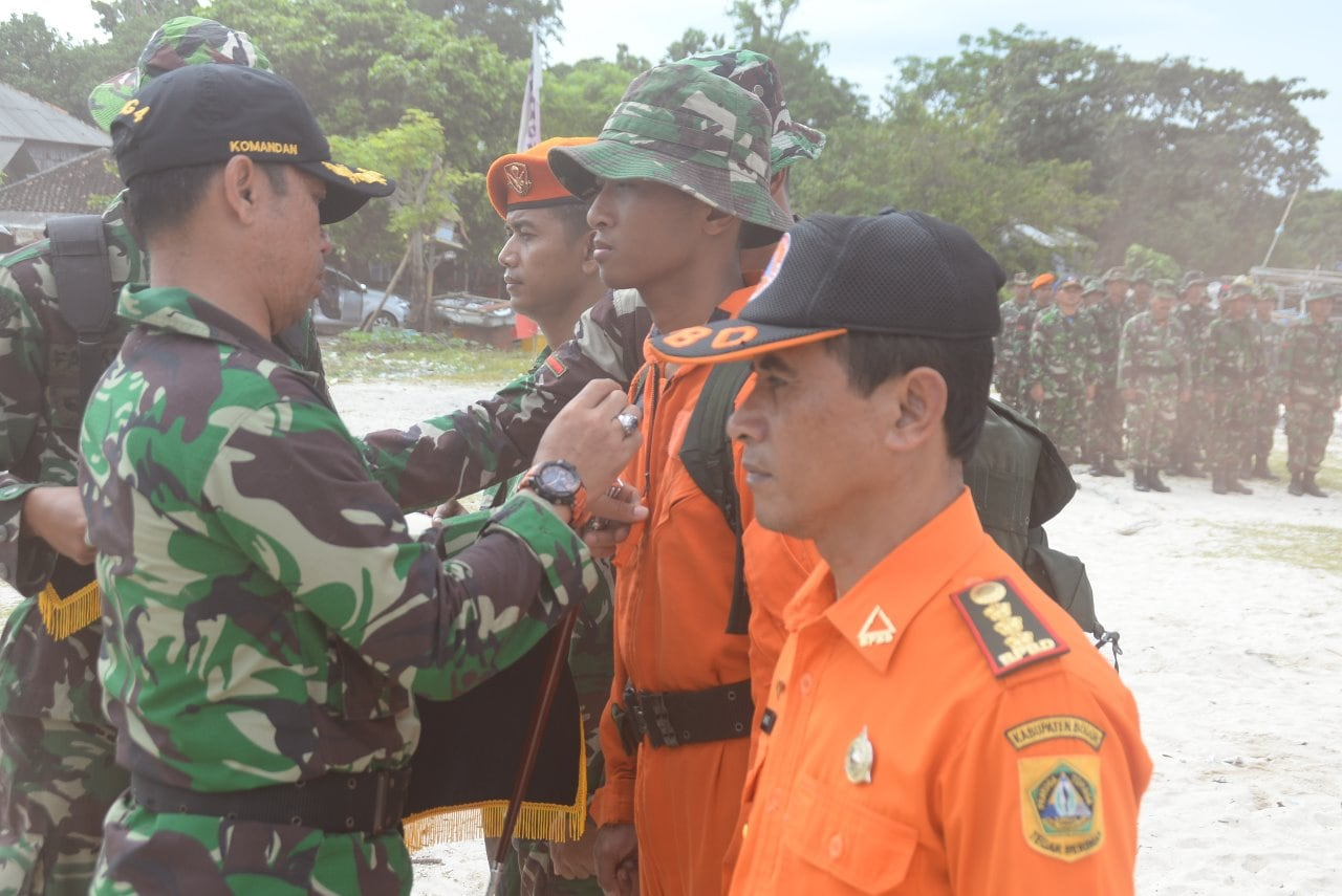 """Danwing 4 Lanud Ats Tutup """"Latihan Survival Dasar Sangga Langit T.A. 2018"""""""