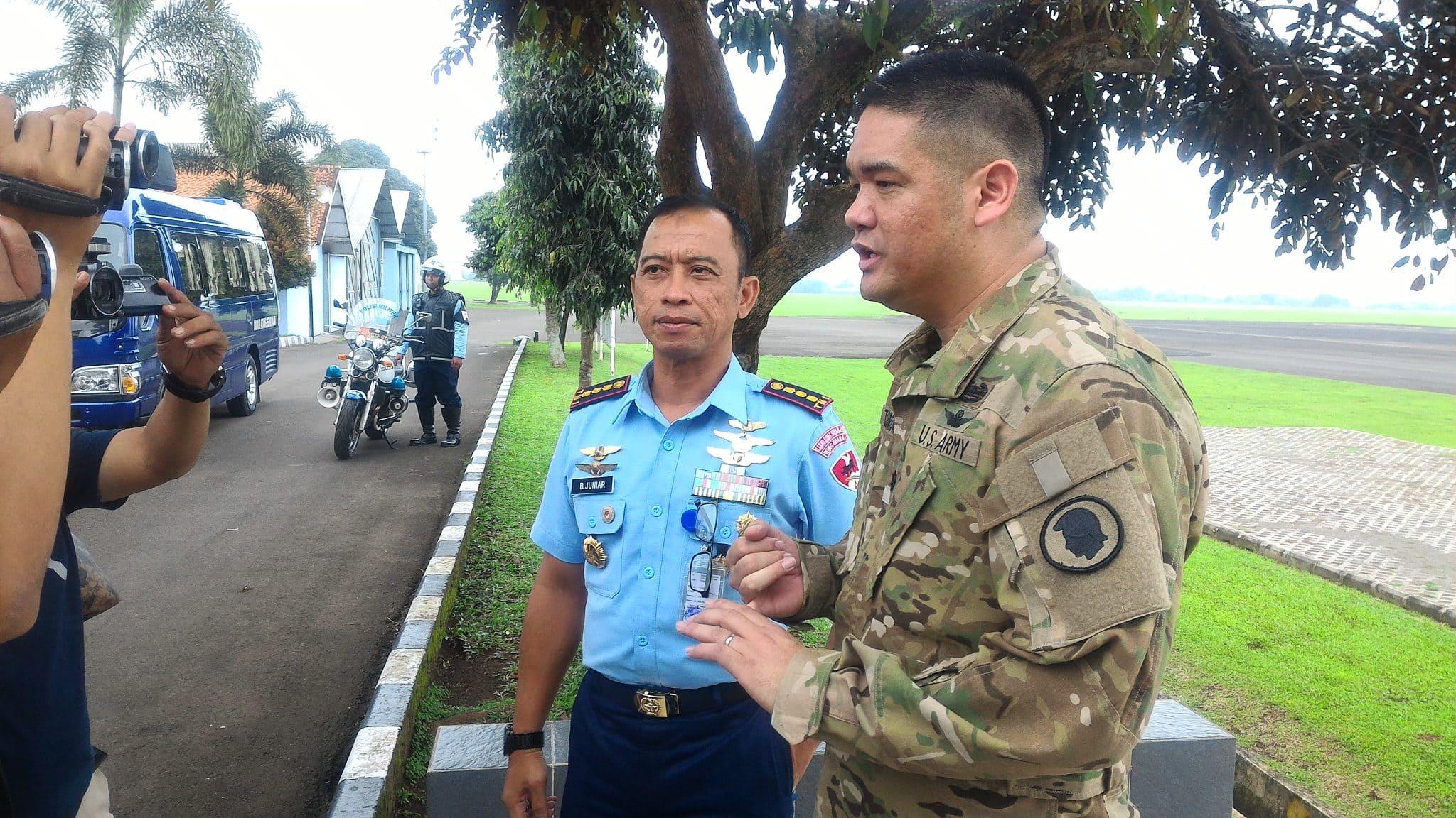 Hawai Army National Guard dari Amerika Kunjungi Lanud Ats