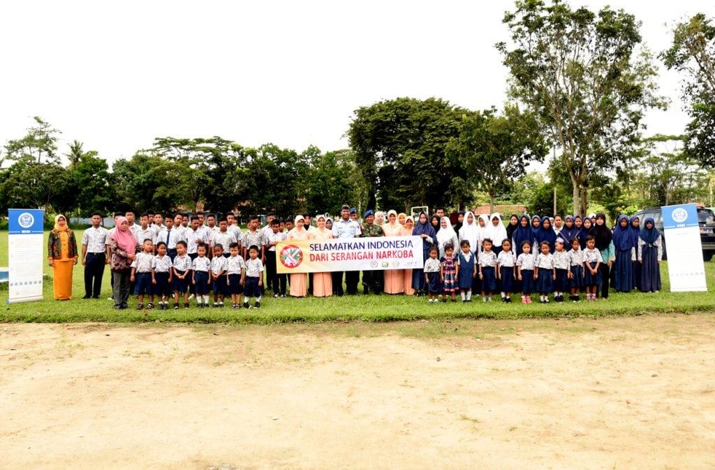 Ikrar Anti Narkoba Sekolah Angkasa Lanud BNY