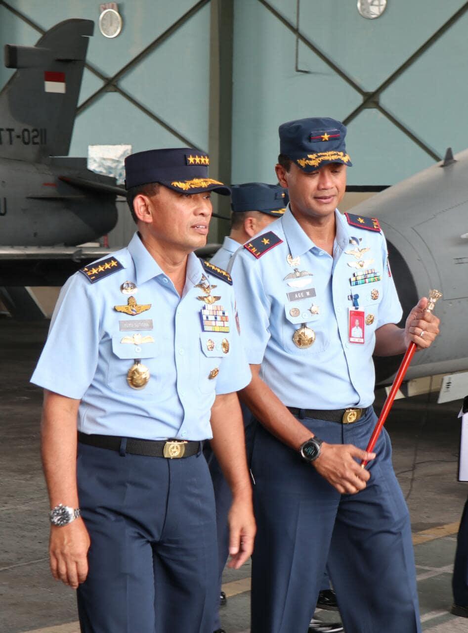 Kasau : Penerbang TNI AU Harus MampuTerbang Operasi Pada Malam Hari