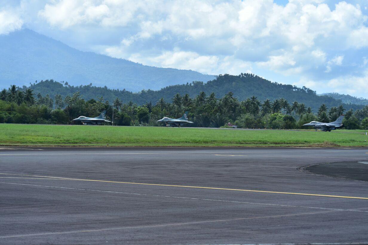 Skadron Udara 16 Ikuti Latihan Cope West 2018