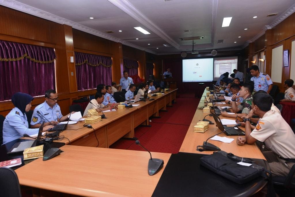 Sosialisasi E-Filing Bagi Personel Markas Kohanudnas