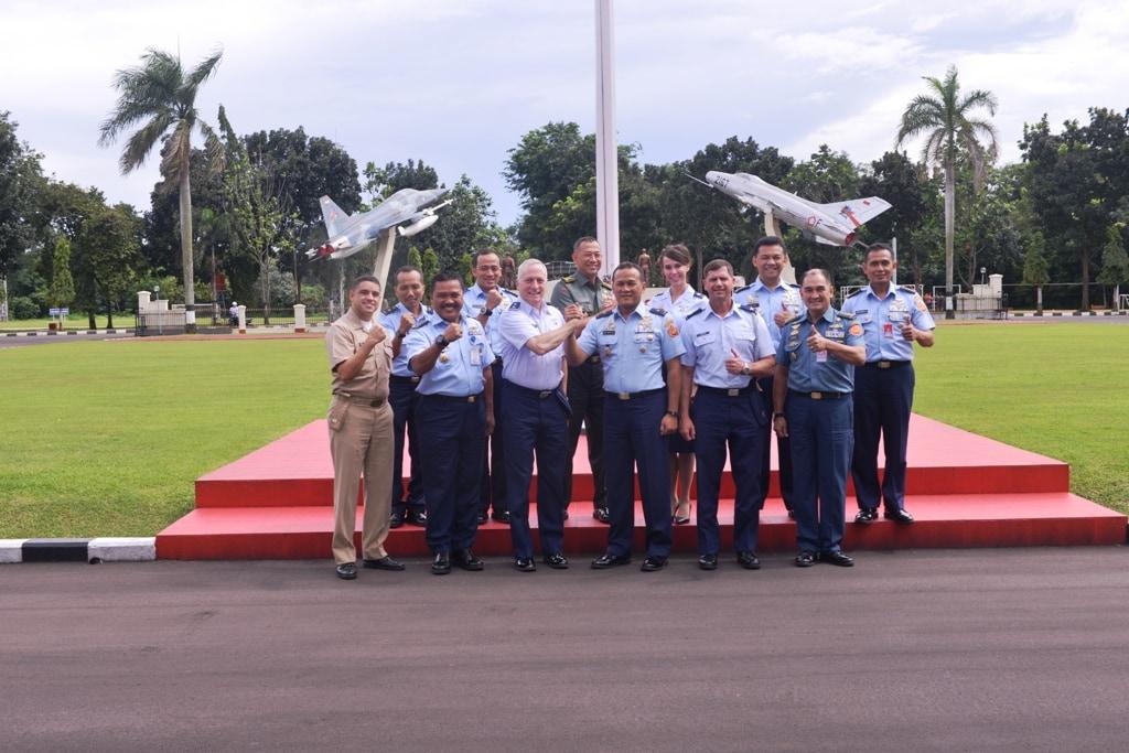 Pejabat US Pacific Air Force Berkunjung ke Markas Kohanudnas