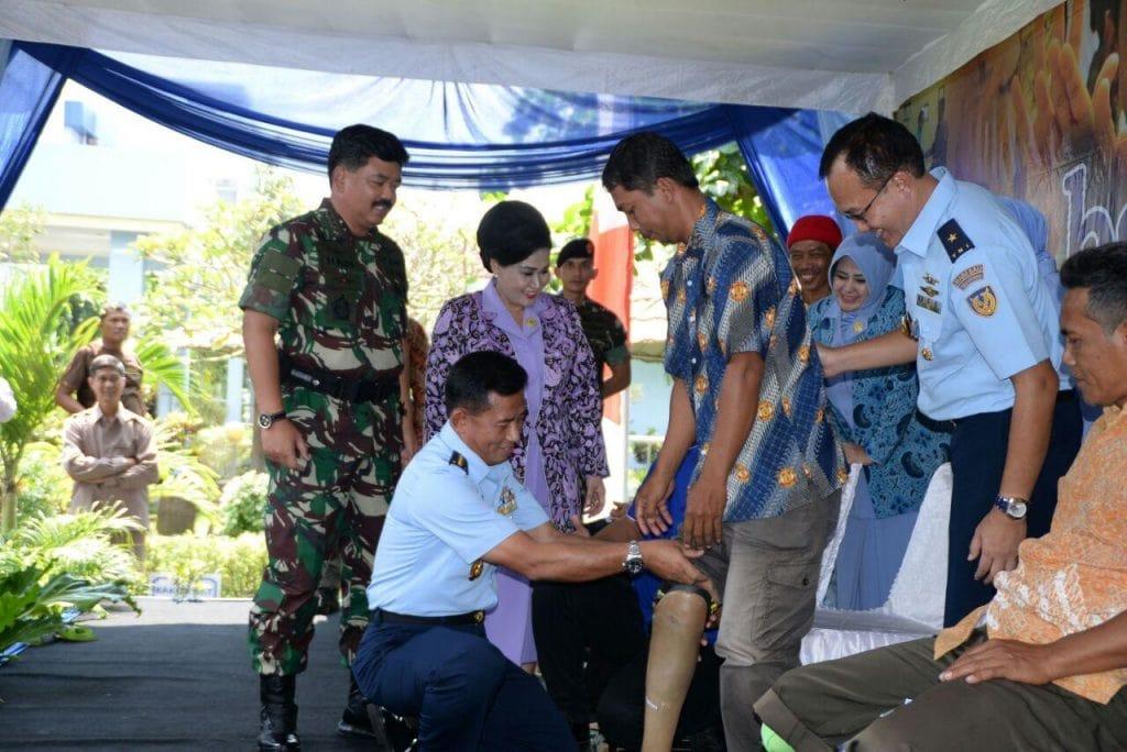 Panglima TNI Kunjungi Bhakti Sosial RSPAU dr. Hardjolukito