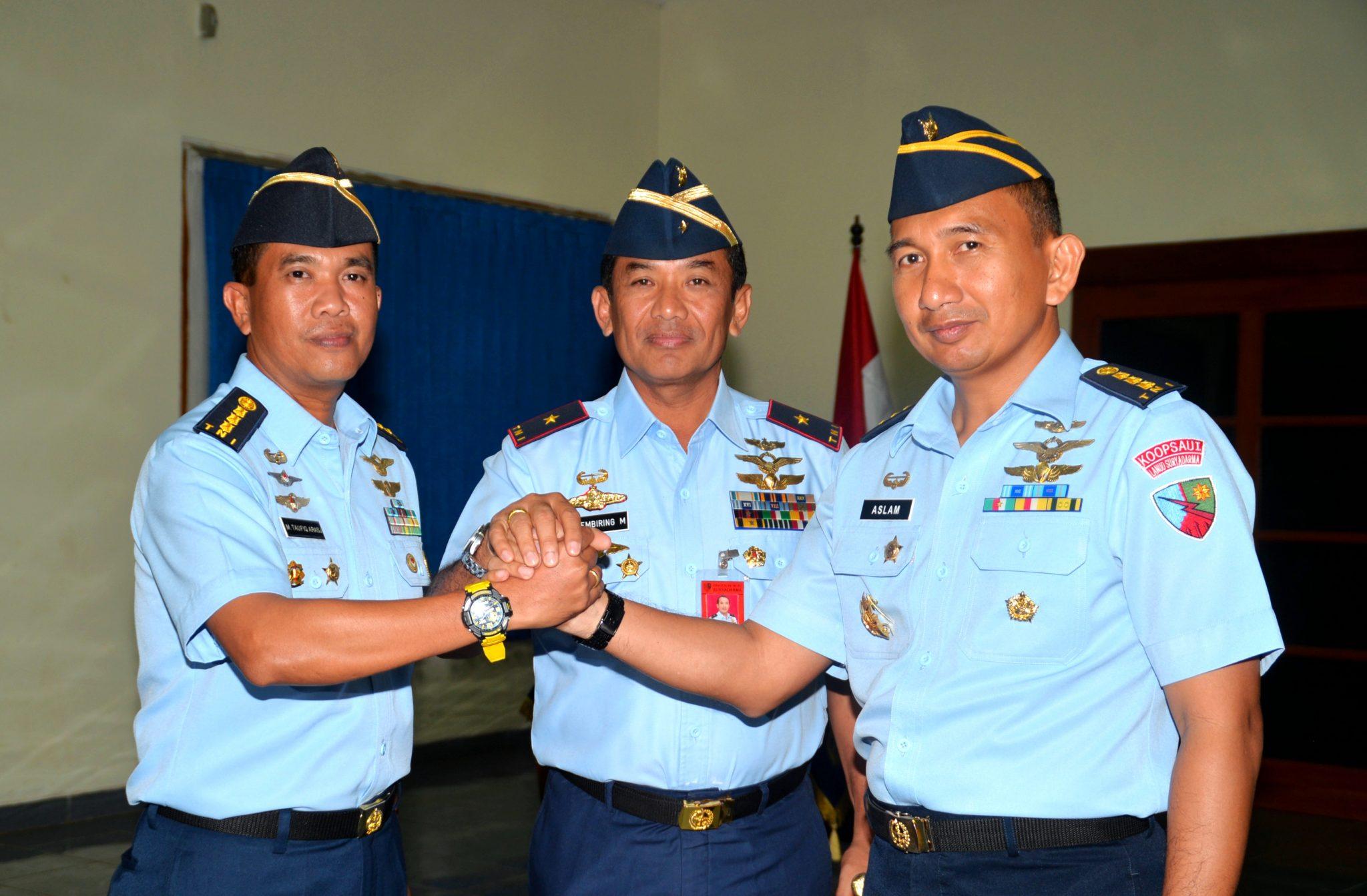Kolonel Pnb Khairun Aslam Jabat Kadisops Lanud Suryadarma
