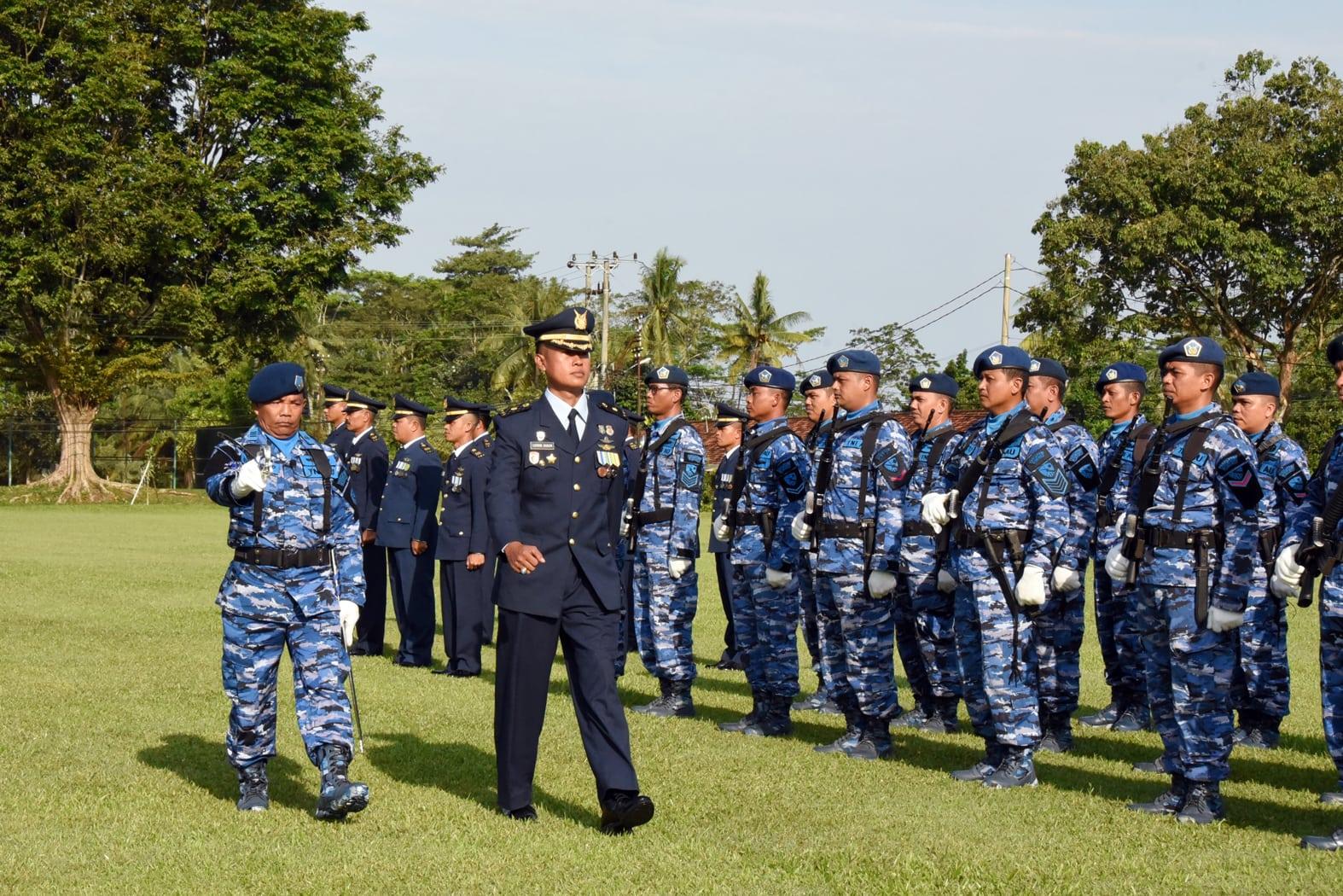 Upacara Hut Ke-72 TNI AU di Lanud Pangeran M. Bun Yamin