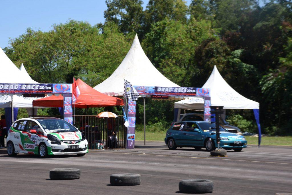 Drag Race 201m Meriahkan Bulan Dirgantara 2018 Lanud Sultan Hasanuddin