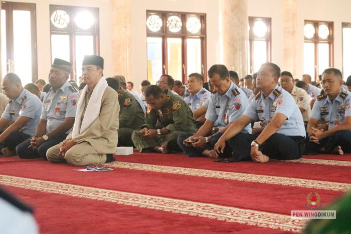 Anggota Wingdikum Ikuti Peringatan Isra Mi'raj Nabi Muhammad SAW